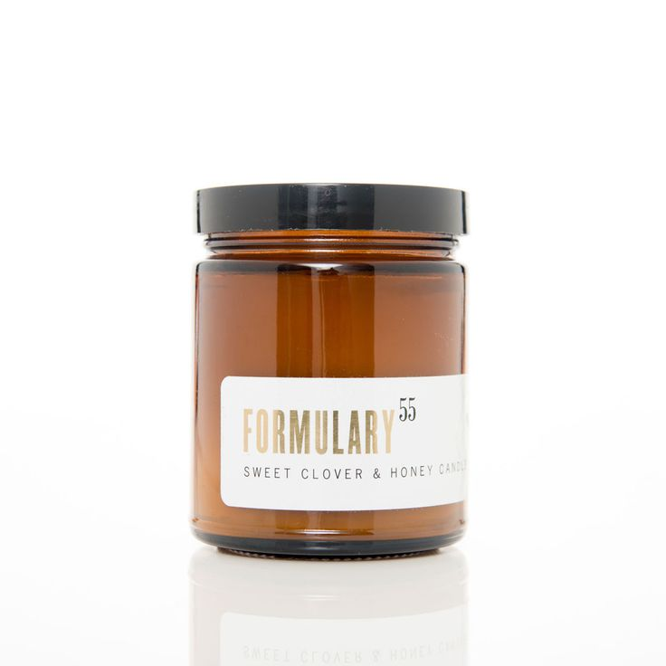 Sweet Clover & Honey. Shop now at The Candle Library. Formulary 55 candles are hand lured in the US using 100% natural vegetable wax.
