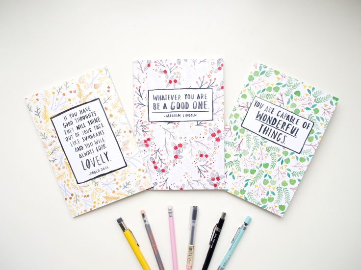 A5 Notebooks | Spring Floral Collection from OH NO Rachio!