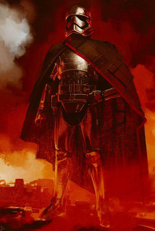 'Stormtrooper Cloak Front Red Stripe' (Captain Phasma ...