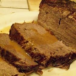 English Roast Beef Recipe - Allrecipes.com.  This melted in my mouth.  I cooked it in a cast iron skillet and it was even better!  I left out the mint though.