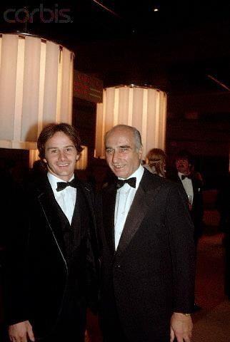 Gilles Villeneuve e Juan Manuel Fangio