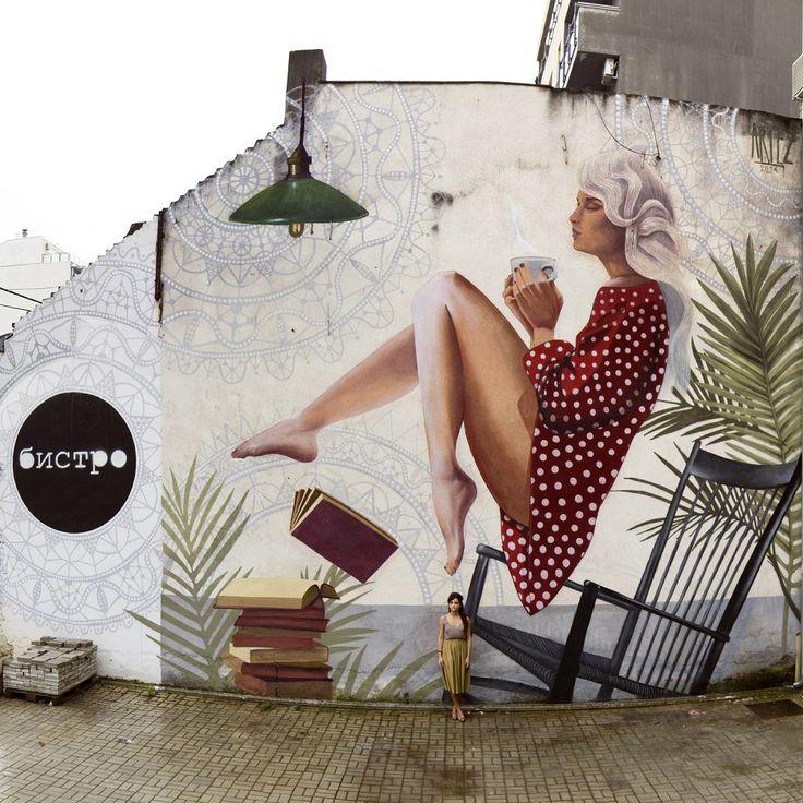 """""""Encuentra tu manera de volar"""" por Artez. Belgrado; Serbia; 2014."""