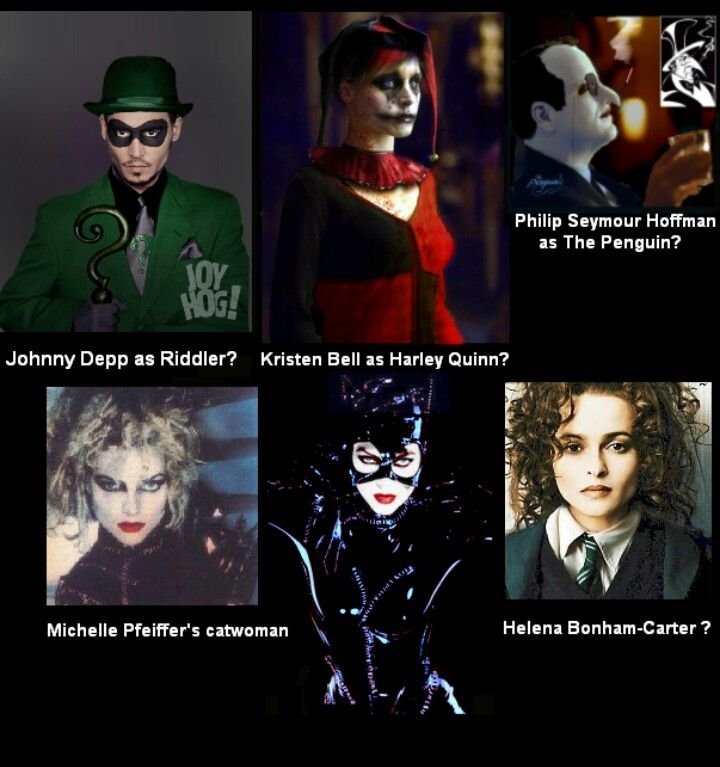 New Characters For Old Roles Fir An Upcoming Batman Movie