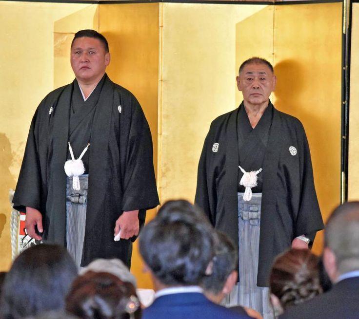 大島、友綱親方が名跡交換「明るい部屋に」襲名披露 / 日刊スポーツ #相撲 #部屋