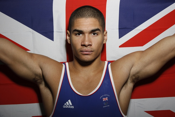 My new found love, Louis Smith, of the Great Britain gymnastics team.
