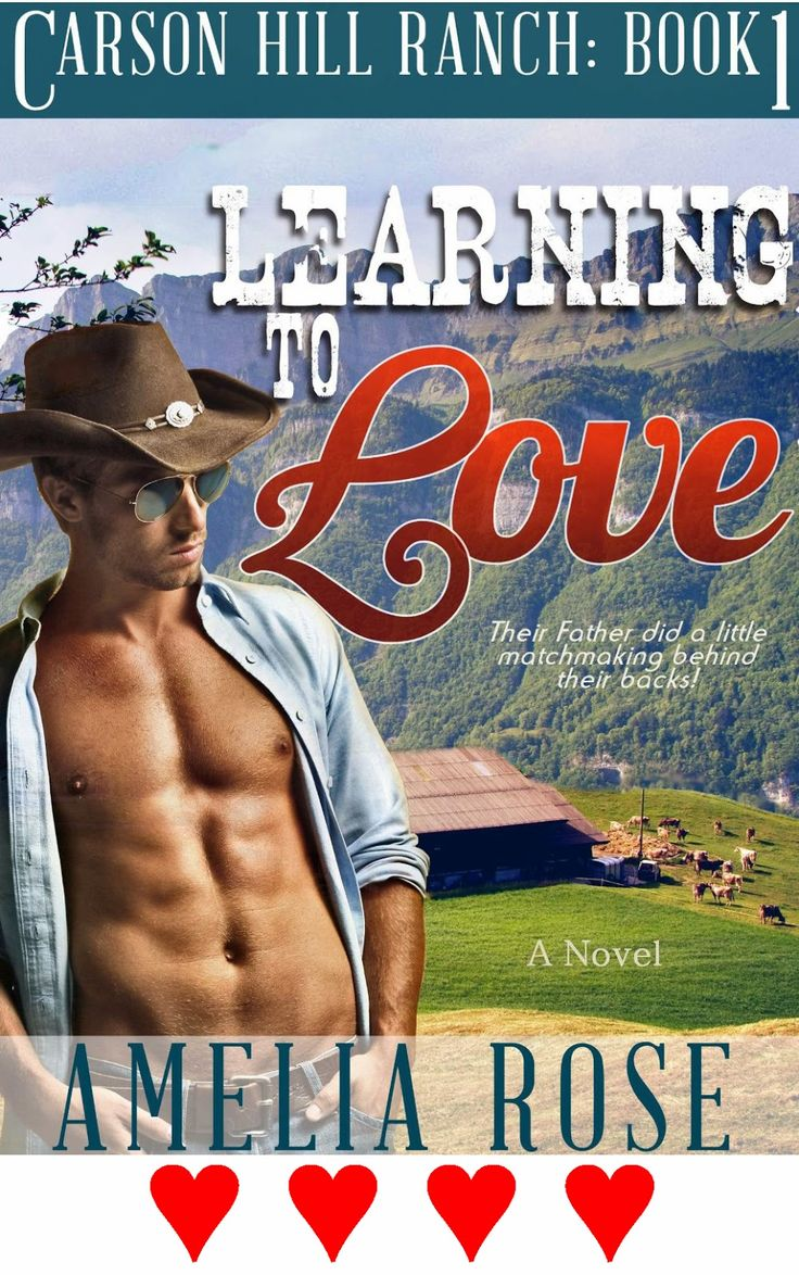 Romance Book Scene: Romance Book Review: Amelia Rose's Learning To Love