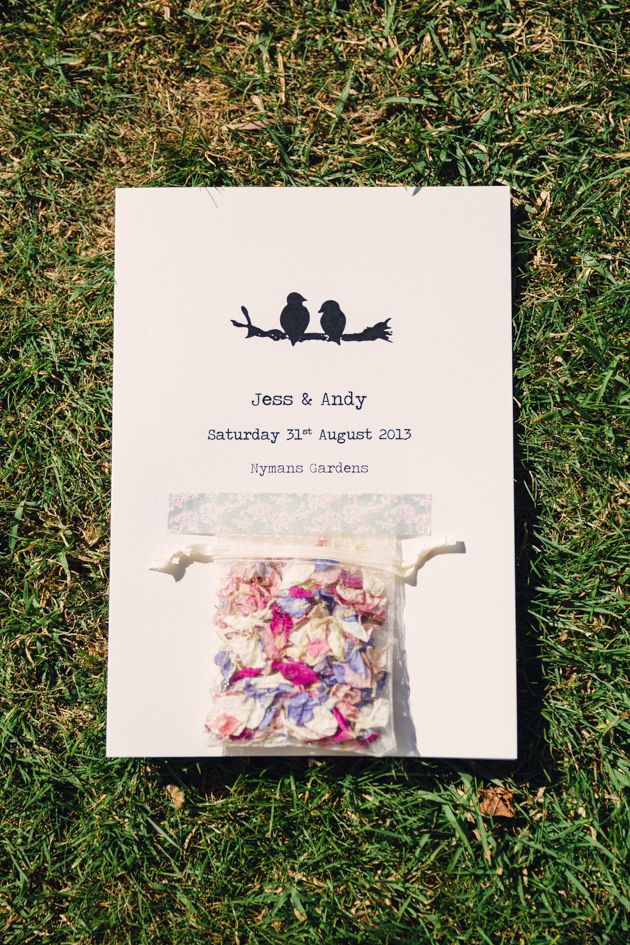 I REALLY LOVE THIS INVITATION!!! Gorgeous Garden Wedding | Lisa Dawn Photography | Bridal Musings Wedding Blog 9