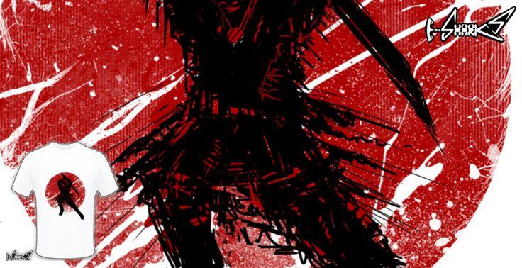 T-shirts - Design: Ancient Samurai - by: Catherine Jose