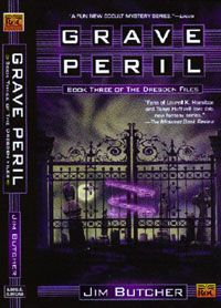 4: GRAVE PERIL by Jim Butcher (Dresden Files #3). I forgot to pin this when I finished it several months ago. Uhhh... 8/10? Probably?