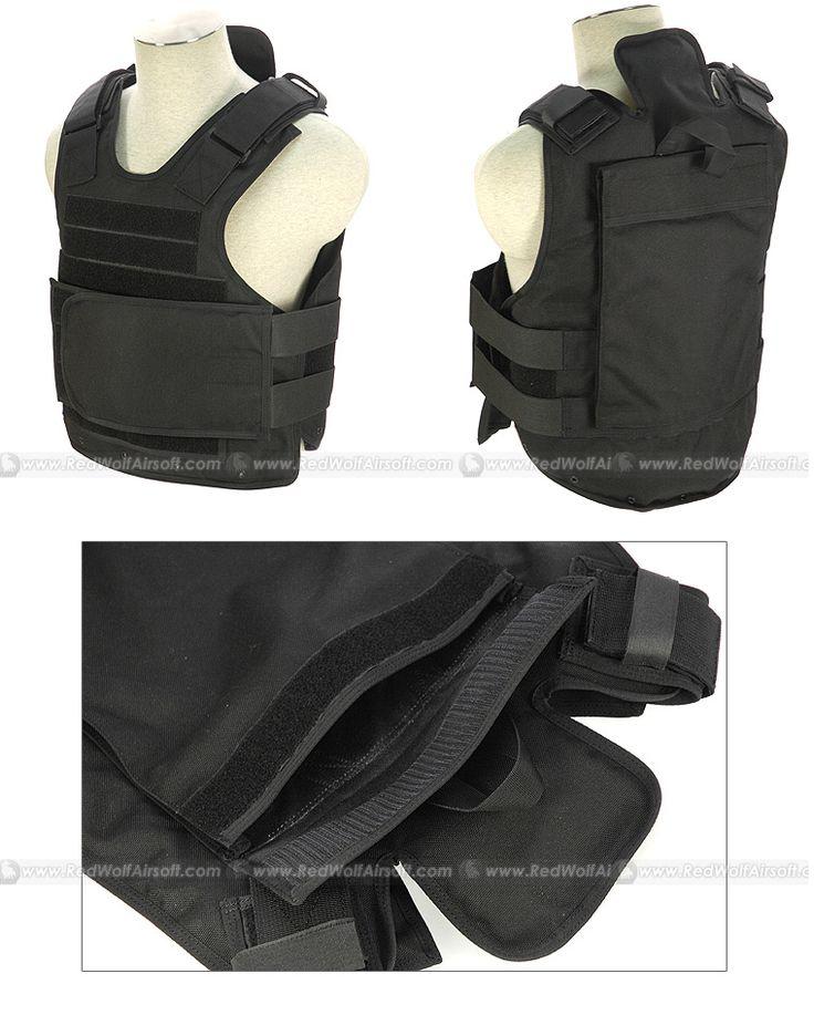 PANTAC Body Armor Shell (Condura / Black Hawk Down Version)