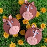 Op de boerderij: Paarden cupcakes