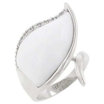 Jewelcology - My Great White Leaf Ring, $31.50 (http://jewelcology.com/my-great-white-leaf-ring/)