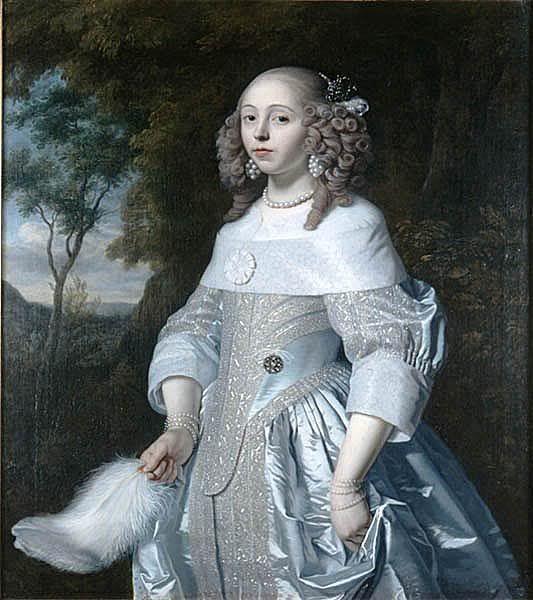 Jeanne Parmentier (1634-1710), Bartholomeus van der Helst, 1656: