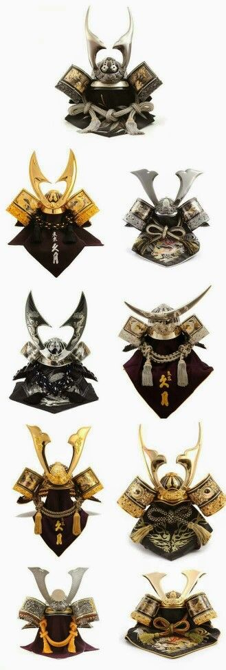 Japanese Samurai Helmets                                                       …