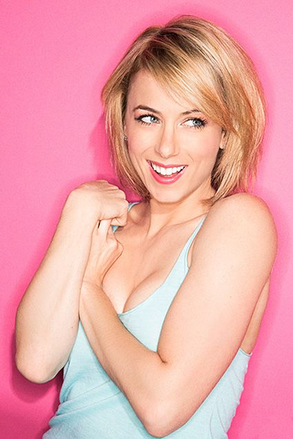 COMEDY: iliza shlesinger - met her briefly afterwards, and her adorable dog blanche - brea improv...