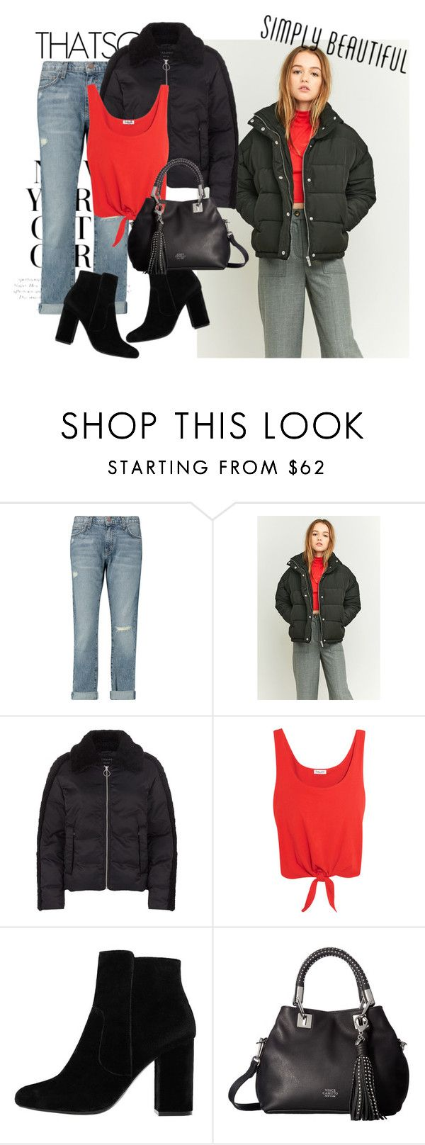 """""""red hot trends"""" by smillafrilla ❤ liked on Polyvore featuring H&M, Current/Elliott, Light Before Dark, AllSaints, Splendid, MANGO and Vince Camuto"""