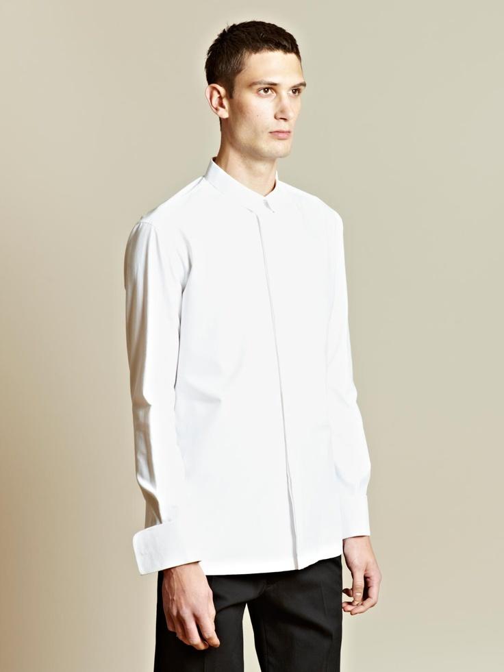 how to make shirt collar stiff