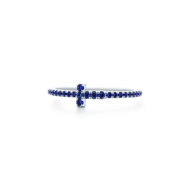 Tiffany T:Sapphire Band Ring