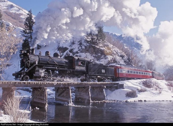 *Nevada Northern Railway in Utah