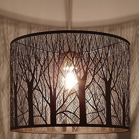 Devon Easy-to-fit Ceiling Shade, Large Lamp shades, Lampshades and Trees