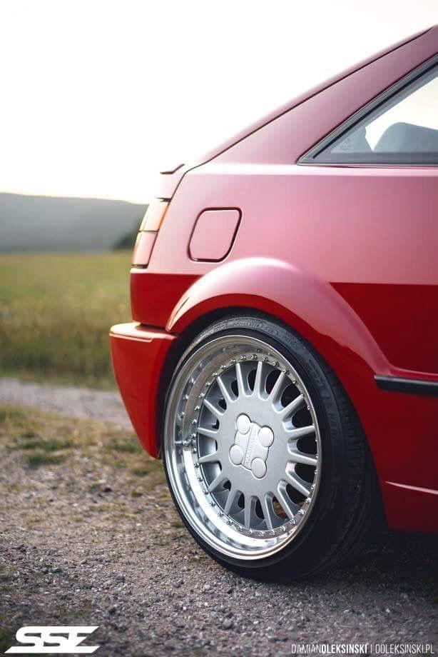 Love these rims on a Corrado!
