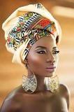 Multi-color Bazin Head Wrap Tie Scarf High Quality Scarf Gele & Ipele - Thequeenmelanin