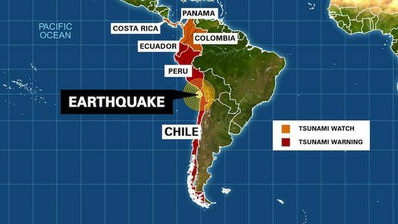 A powerful 8.2 magnitude earthquake rocked northern Chile earlier this week, causing at least six deaths and a two-metre high tsunami that swept portions of the coast. In anticipation of further waves, the Pacific Tsunami Warning Centre issued warnings for Chile, Peru, Colombia, Panama and Ecuador, the last of which the Galapagos Islands belong to. …