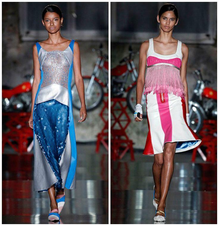 Тенденции-женской-моды-2018-года-фото-одежда-из-денима-деловой-стиль-авангард-Тенденции моды 2018  #мода #стильно #гламур #женщина #класс #тренды #тенденции #красота #стиль #модно #леди #белье #лето