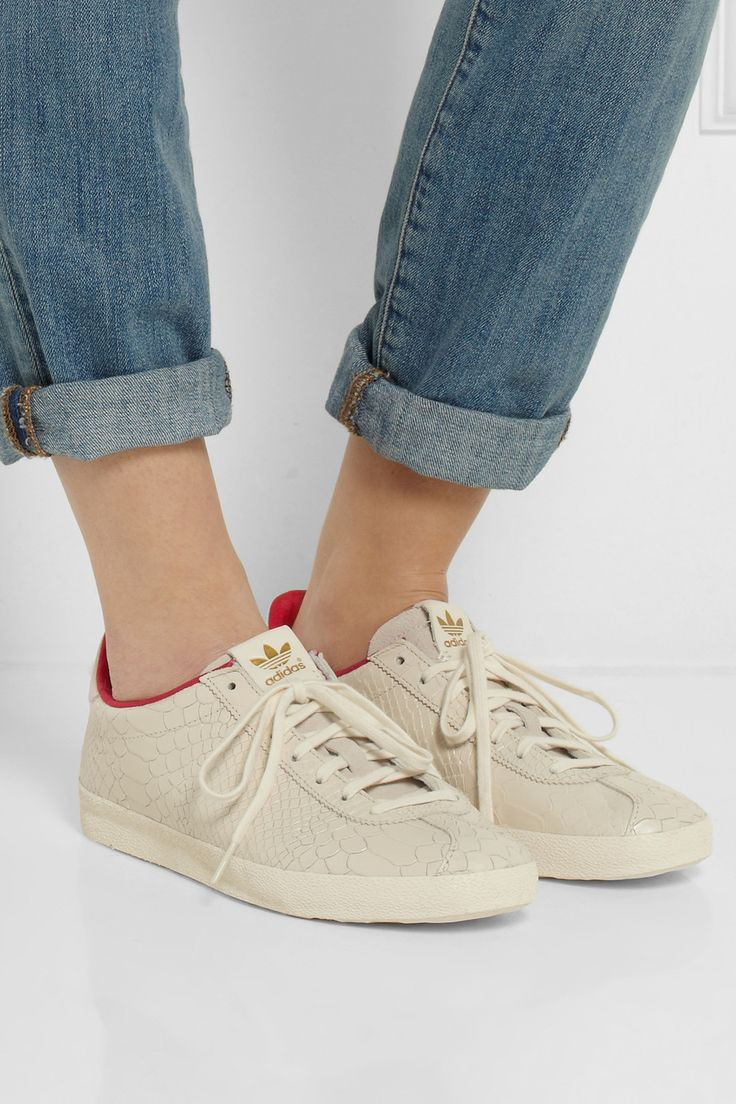 68ff73f2c5a5 ... get adidas originals gazelle og dragon snake effect leather sneakers  net a 9b33f 4406c