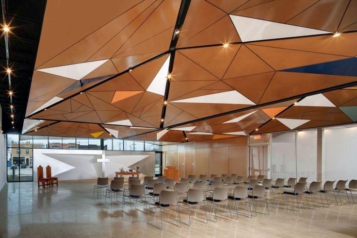 Innovative multi-use space, North Presbyterian Church, designed by SILO AR+D
