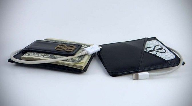 This Classy Minimalist Wallet Has Bluetooth, GPS Tracker and Charges Your Smartphone Too  #SmartWallet #StreetSmart #wearabletech #highfashionhightech #hfht #SSB