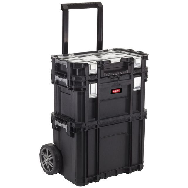 Zestaw Skrzynek Smart Rolling Workshop Keter Workshop Luggage