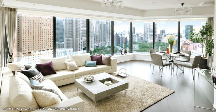 モデルルーム|ラ・トゥール新宿|【公式HP】|東京・新宿高級賃貸デザイナーズマンション