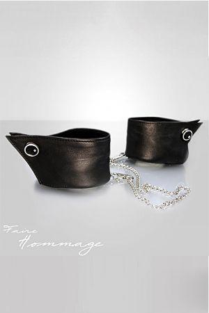 Bracelets Manchettes en Cuir Faire Hommage