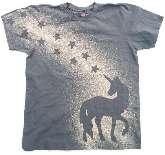 Hey, I found this really awesome Etsy listing at https://www.etsy.com/uk/listing/231340447/unicorn-shirt-unicorn-t-shirt-bleach-t