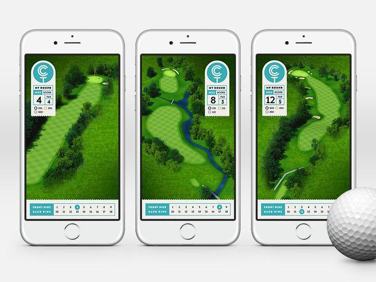 Golf App by John Godfrey