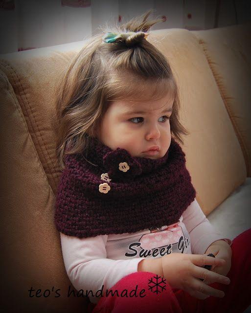 teo's handmade: Crochet pattern - guleras cu floricele