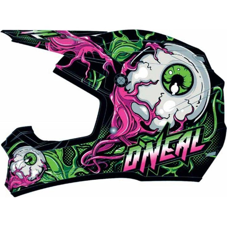 O'Neal Racing 5 Series Mutant Youth MotoX/Off-Road/Dirt Bike Motorcycle Helmet - http://downhill.cybermarket24.com/oneal-racing-5-series-mutant-youth-motoxoffroaddirt-bike/