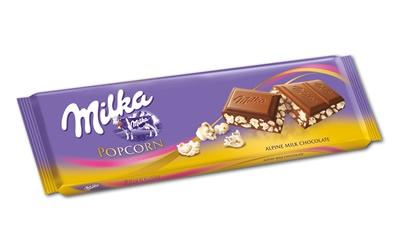 Hace unos días, nuestro amigo @Lluis Cona compartía con nosotros el nuevo Milka Choco & Popcorn. Él lo encontró en un aeropuerto y parece ser que en España aún no se ha lanzado (al menos nosotras no lo hemos encontrado).    ¿Podremos disfrutar pronto de este doble pecado? Si es así, lo verás en yolopruebo.com