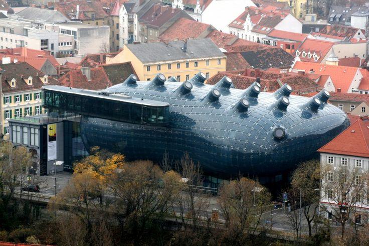 19. Kunsthaus - Gratz, Austria