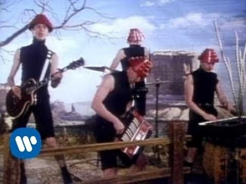 """Devo - Whip It (Video) - YouTube """"When a problem comes along, You must whip it, When something's going wrong, You must whip it..."""""""