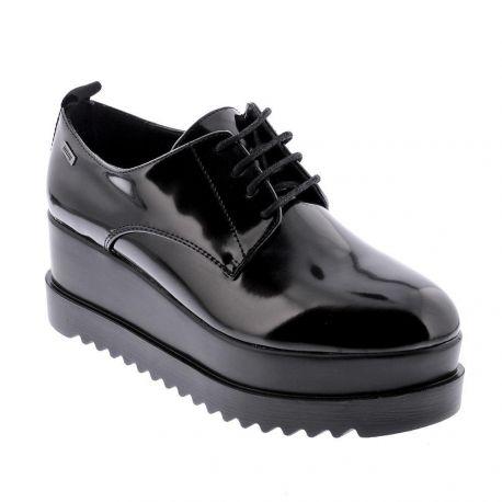 Zapato con plataforma de Mujer Negro Mustang 50872