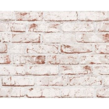 Red Brick White Washed