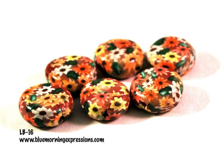 Handmade Polymer Clay Beads, Polymer Clay Beads for Sale, Jewelry Making Supplies #bmecountdown