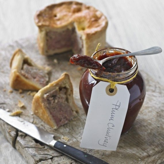 Plum Chutney Recipe - Made this today too! Yum again!