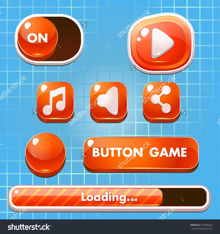 stock-vector--set-of-game-buttons-progress-bars-boosters-icons-for-user-interface-design-of-computer-278598293.jpg (1500×1600)
