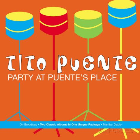 Tito Puente, Party at Puente's Place Posters - AllPosters.co.uk