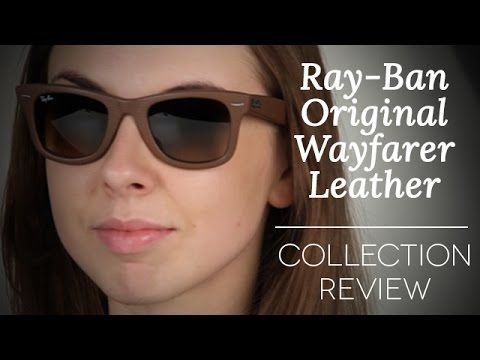 cc2b0f48bc Ray Ban RB2140 Original Wayfarer Leather Collection Review ...