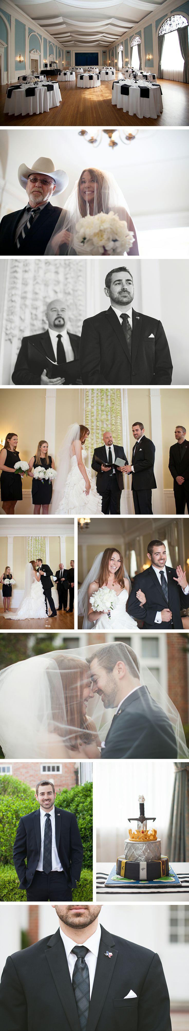 Texas Federation of Women's Club Mansion Wedding:  Austin, Texas