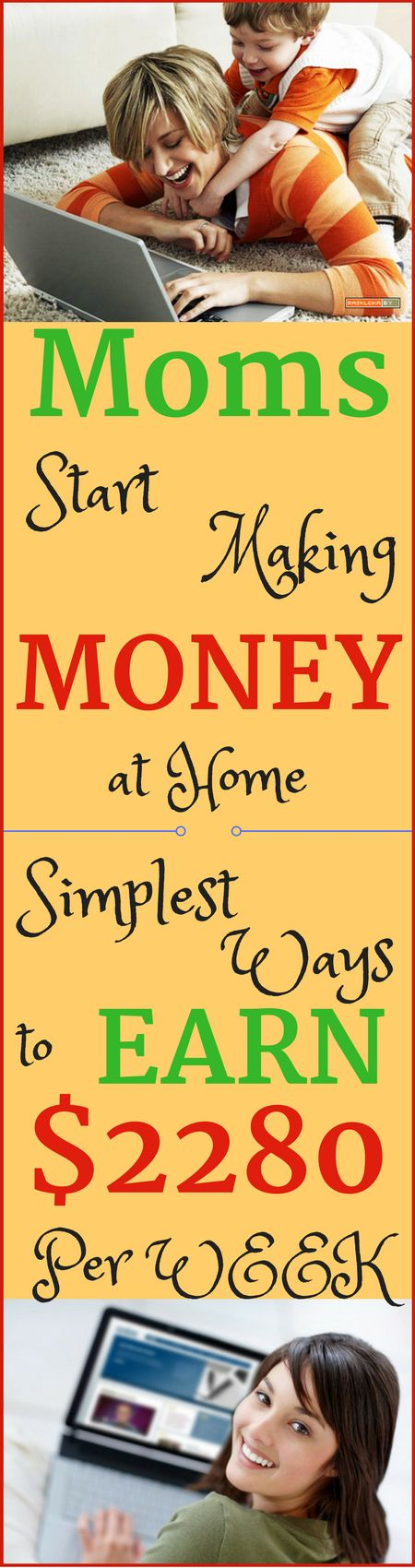 Make money online moms in 2017. Best ways to earn passive income online from home. Start making $2280 per week with genuine methods. Click to see how >>>